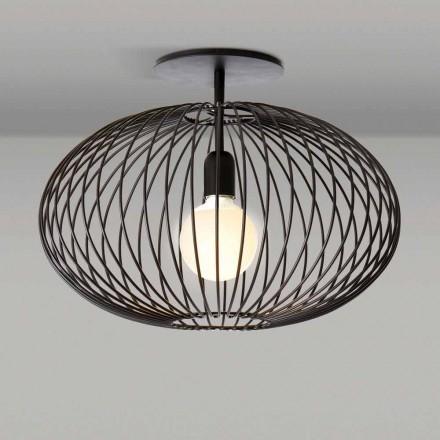 lampă de tavan modern din otel vopsit, 48xH 35 cm, Heila