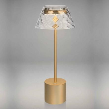Lampă de masă Led Touch Design din metal și acrilic - Tagalong