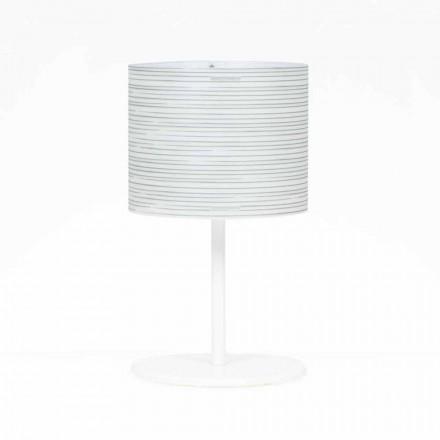 lampă de masă cu decor design modern, diametru 30 cm, Debby