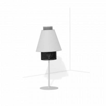 Lampă de masă cu structură metalică Design modern Made in Italy - Sailor