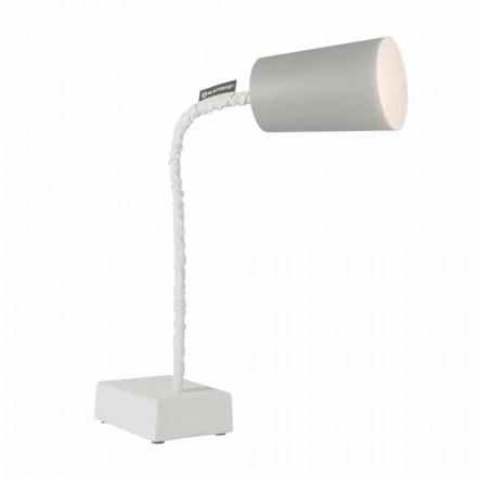 Lampă de masă In-es.artdesign Vopsea T2 flexibilă pentru ciment