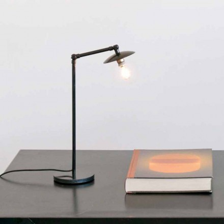 Lampă de masă din fier cu lumină reglabilă Made in Italy - Amino