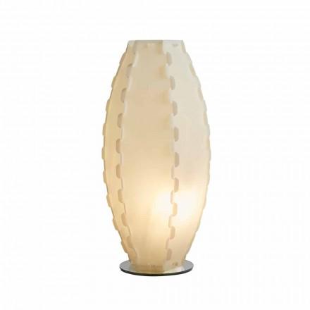 Lampa de masa perla sandylex realizate în Italia Gisele, diam. 27 cm