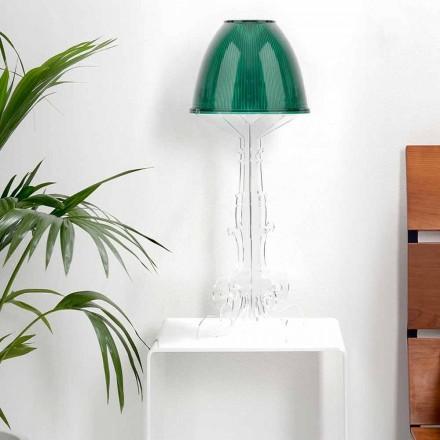Design Liberty / lampă de masă cu bază din plexiglas, Caneva