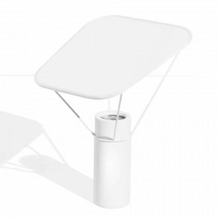 Lampă de masă modernă din rășină și bumbac alb Fabricat în Italia - Fiera
