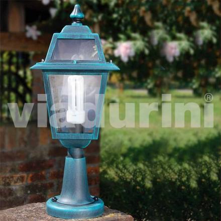 Lampă de exterior din aluminiu, fabricată în Italia, Kristel
