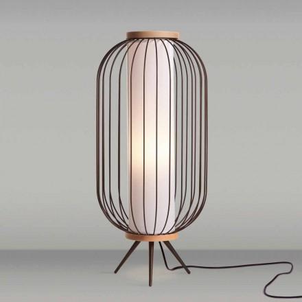 Lampa de podea de design modern din oțel inoxidabil cm diametru 37xH80 Fanny