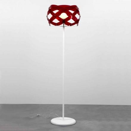 Lampa de podea design modern în Vanna metacrilat, H 187 cm