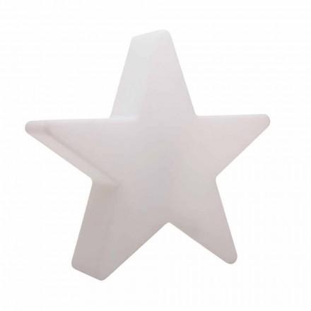 Lampă de podea cu formă de stea albă sau roșie, design modern - Ringostar