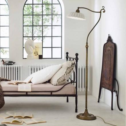 Lampa de podea ceramică Art Nouveau Anita Il Fanale