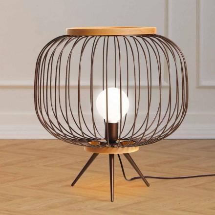 Lampa contemporan oțel Design sol 48xH 52 cm Leira