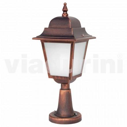 Lampă de exterior din aluminiu, realizată în Italia, Aquilina