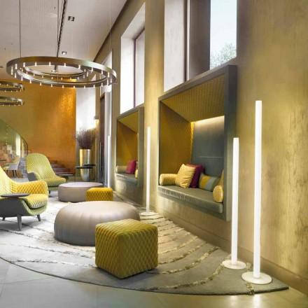 Slide Flux lampă de podea subțire în metacrilat fabricat în Italia