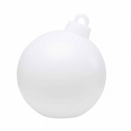 Lampă pentru interior sau exterior Decor roșu, alb Minge de Crăciun - Pallastar
