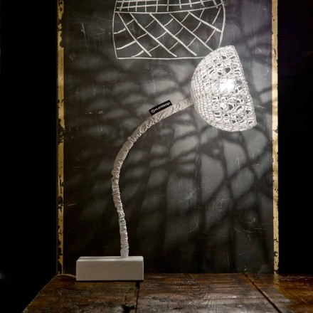 Lampa de proiectare a tabelului In-es.artdesign T2 Tub flexibil flexibil