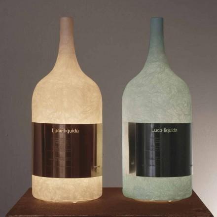 Lampă de masă în nebulită colorată In-es.artdesign Luce Liquid1