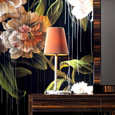 Țesătură Grilli Snake și lampă de masă realizată în Italia