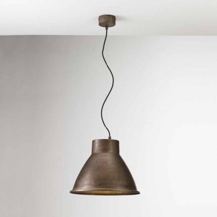 Lampa industriale în suspensie de fier Loft Media Il Fanale