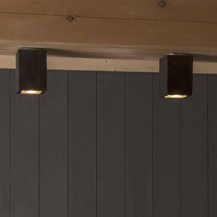 LED lumina plafonului exterior din lut, Smith - Toscot