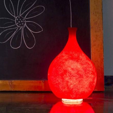 Lampă de masă modernă In-es.artdesign Luce2 lumină în nebulită