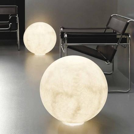 Lămpi de masă sferice moderne In-es.artdesign Nebulitate la lună