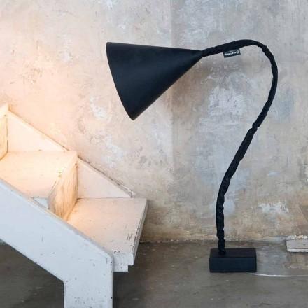 Lampă de podea modernă In-es.artdesign Tablă de rășină cu flori
