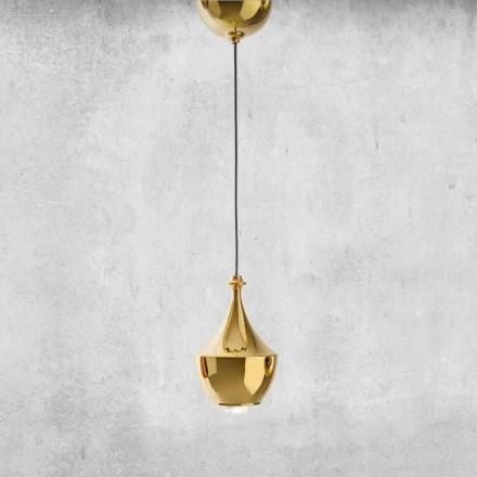 Lampă din ceramică cu LED-uri suspendate Made in Italy - Lustrini L3 Aldo Bernardi