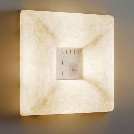 Lampa de perete alb-nebulit In-es.artdesign Dada Luna 1 design
