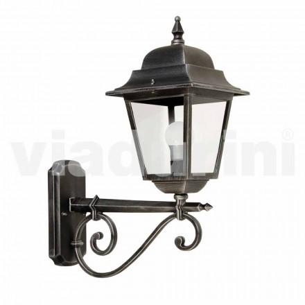 Lampa de perete din aluminiu, realizata in Italia, Aquilina
