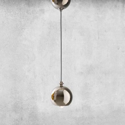 Lampa suspendată modernă din ceramică fabricată în Italia - Lustrini L5 Aldo Berrnardi