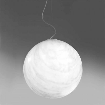 Lampa modernă cu pandantiv din polietilenă Slide Mineral