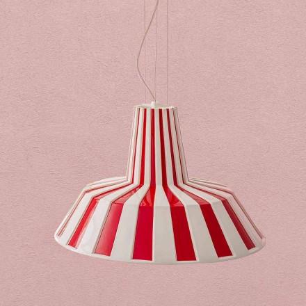 Lampa suspendată din ceramică de design modern - Budin Aldo Bernardi