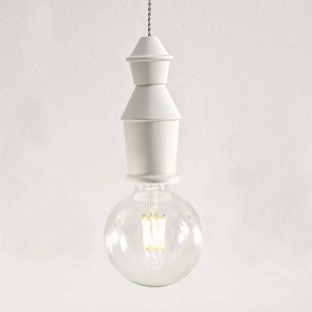 Lampa suspendată din ceramică Shabby Chic - Soarta de Aldo Bernardi