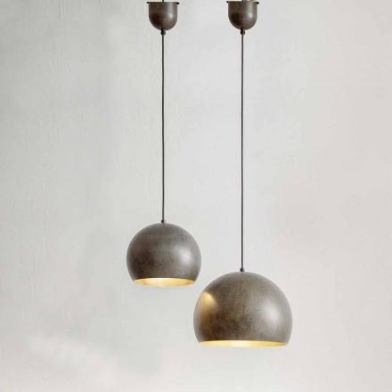 Lampa suspendată în diametru de oțel 300 sau 400 mm - Materia Aldo Bernardi