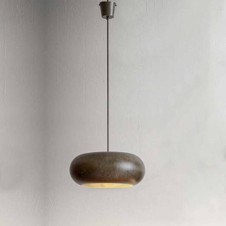Lampa suspendată în diametru de oțel 500 mm - Materia Aldo Bernardi