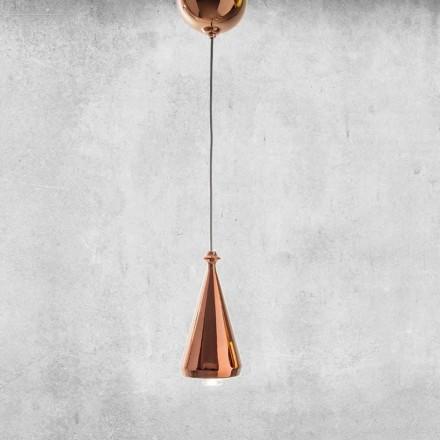Lampă suspendată cu design LED în ceramică - Lustrini L2 Aldo Bernardi
