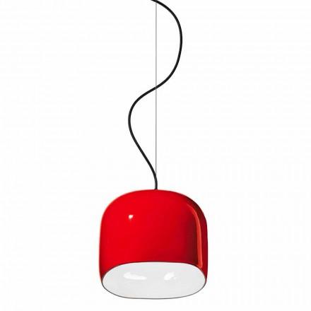 Lampă suspendată în stil modern din ceramică fabricată în Italia - Ferroluce Ayrton