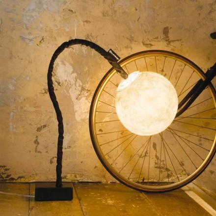 Lampă flexibila pentru podea In-es.artdesign Micro Luna nebulite