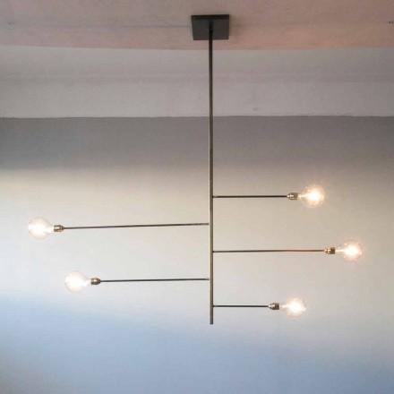 Candelabru Artisanat Design cu Structură de Fier Fabricat în Italia - Tinna