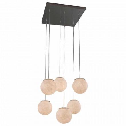 Modern candelabru de design In-es.artdesign Sei Lune în nebulită