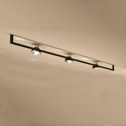 Candelabru modern realizat manual cu structură de fier Fabricat în Italia - Pamplona