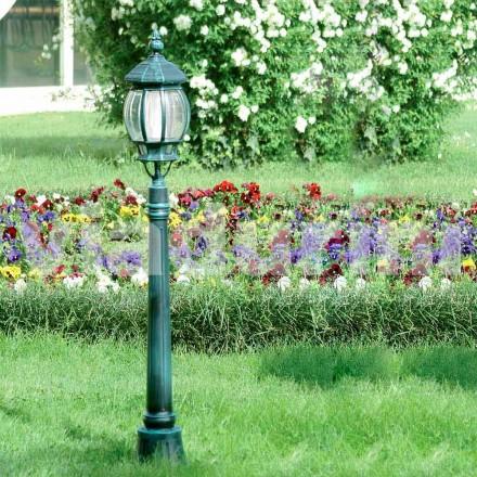 Grătar lampă din aluminiu turnat sub presiune, fabricat în Italia, Anika