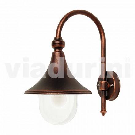 Lanternă de exterior pentru exterior din aluminiu turnat din Italia, Anusca