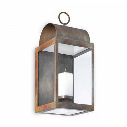 Perete Lantern fier în aer liber sau alamă Il Fanale