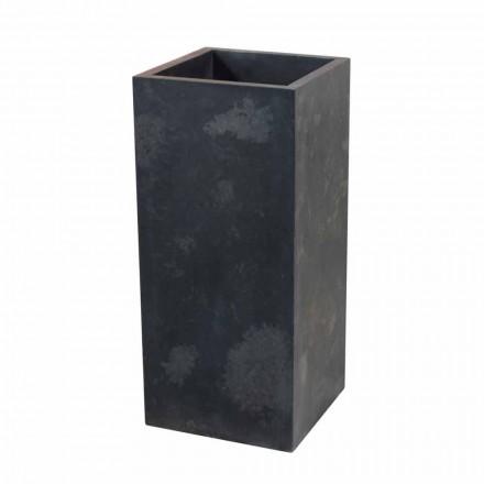 Chiuvetă în negru coloana de piatra naturala Balik