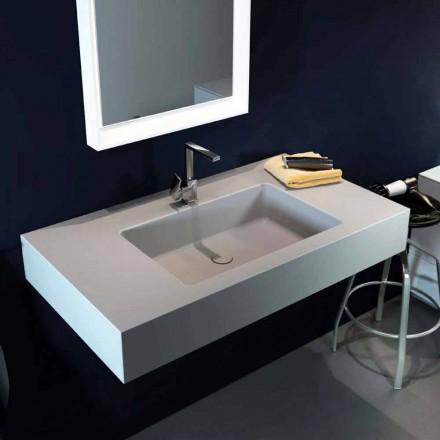 Proiectarea chiuvetei moderne cu pandantiv în Luxolid a făcut 100% în Italia, Ruffano