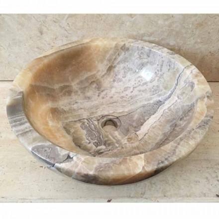 Blat de lamaie din piatra naturala de onix, Ana, manual
