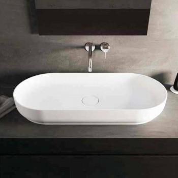 Design modern, chiuveta pentru baie, făcută în Italia, Dalmine Maxi