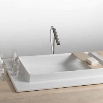 Lavoar dreptunghiular baie ceramice design modern Fred