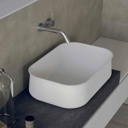 Chiuvetă de baie modernă, de tip blat, cu design modern - Tulyp2